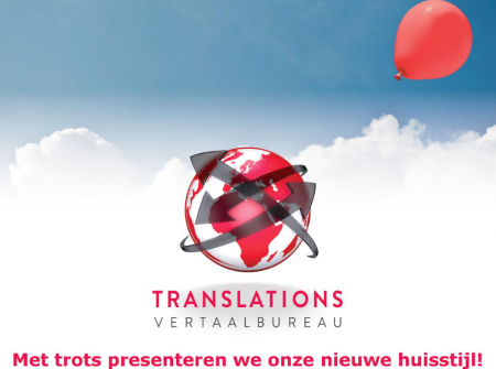 Introduction new corporate identity Translations